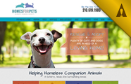 Homes for Pets - Schertz Humane Society Website Design