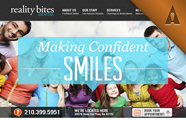 Reality Bites Dental Website Design