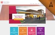 San Antonio Public Library Foundation Website Design