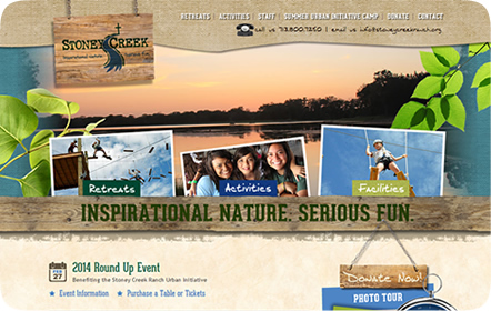 Stoney Creek Ranch Website Design